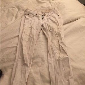 Rag and bone soft white jeans